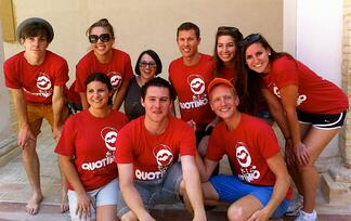 summer camp counselors teaching english in italy