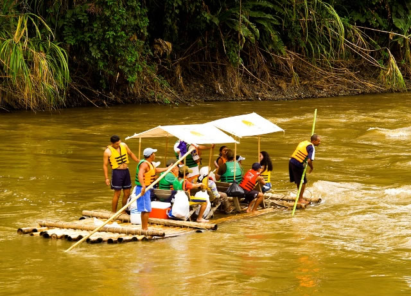 Floating down the La Vieja River