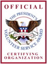 Official certifying organization logo