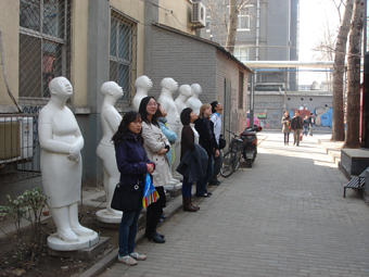 One of our Interns in Beijing.