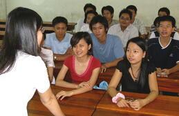 English class in Vietnam
