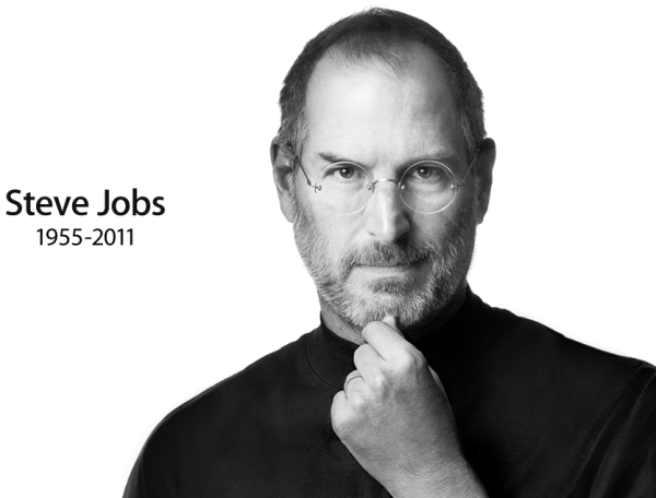 A photo of Steve Jobs, whose quotes we use in our company to make volunteer abroad better.