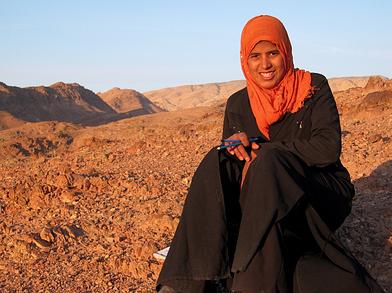 Local Bedouin girl