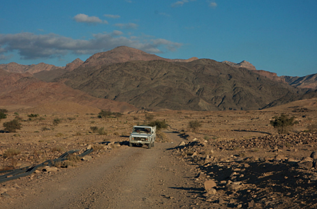 Road to Feynan Lodge