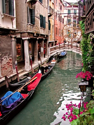 View of Venice, Italy.