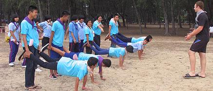 Teach in Thailand games