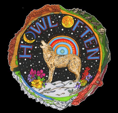 Howl Color Logo