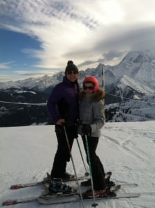 Kelsi got to travel to Saint Gervais Mont Blanc and ski, while working as an au pair in France