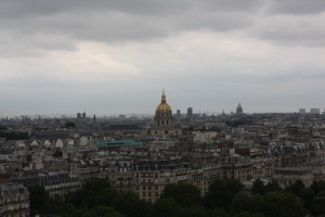 Kelsey enjoys exploring Paris while working as an Au Pair in France