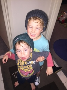 Aimee looks after two young boys while working as an Au Pair in Australia