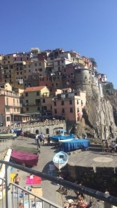 Steven took a trip to Cinque Terre on one of his days off