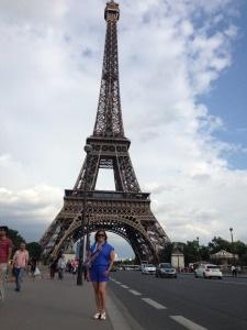 Graciela in Paris, France