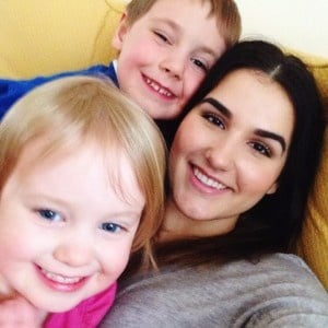 Emily became very close the Dutch children she watched while working as an au pair in the Netherlands