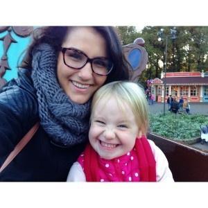 Emily missed her family, but enjoyed spending time with her host family's children