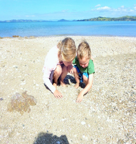 Heidi's au pair host family lived a few minutes from the ocean, so she often took the children to the beach