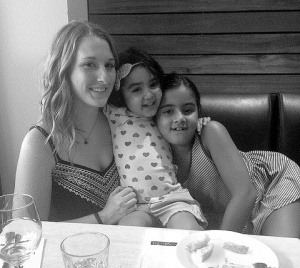 Marley enjoys spending time with the two little girls she watches, while being an Au Pair Abroad in New Zealand